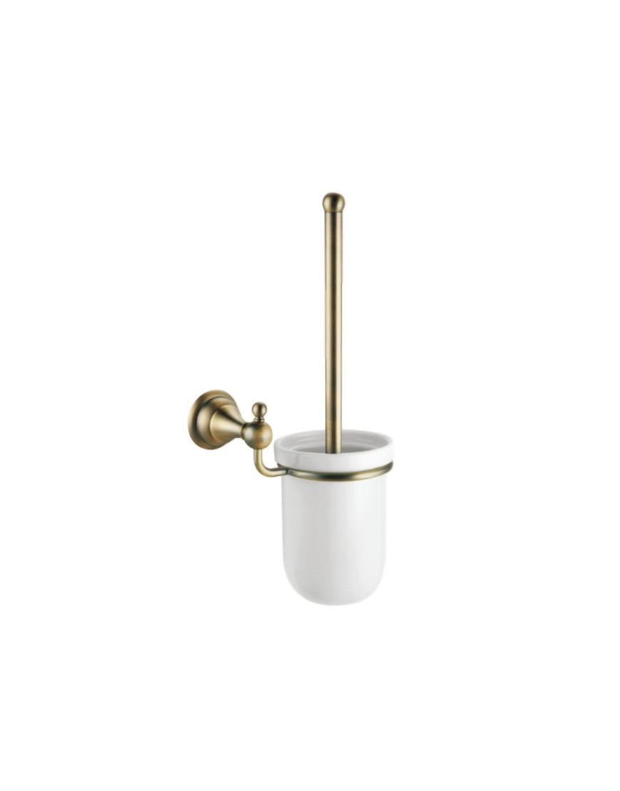 Perie wc cu suport Pompei bronz casamia 2021
