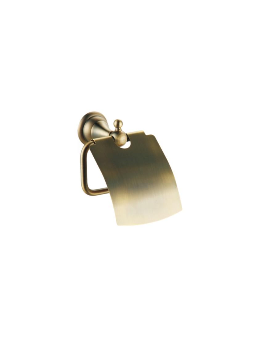Suport hartie cu clapeta Pompei bronz casamia 2021