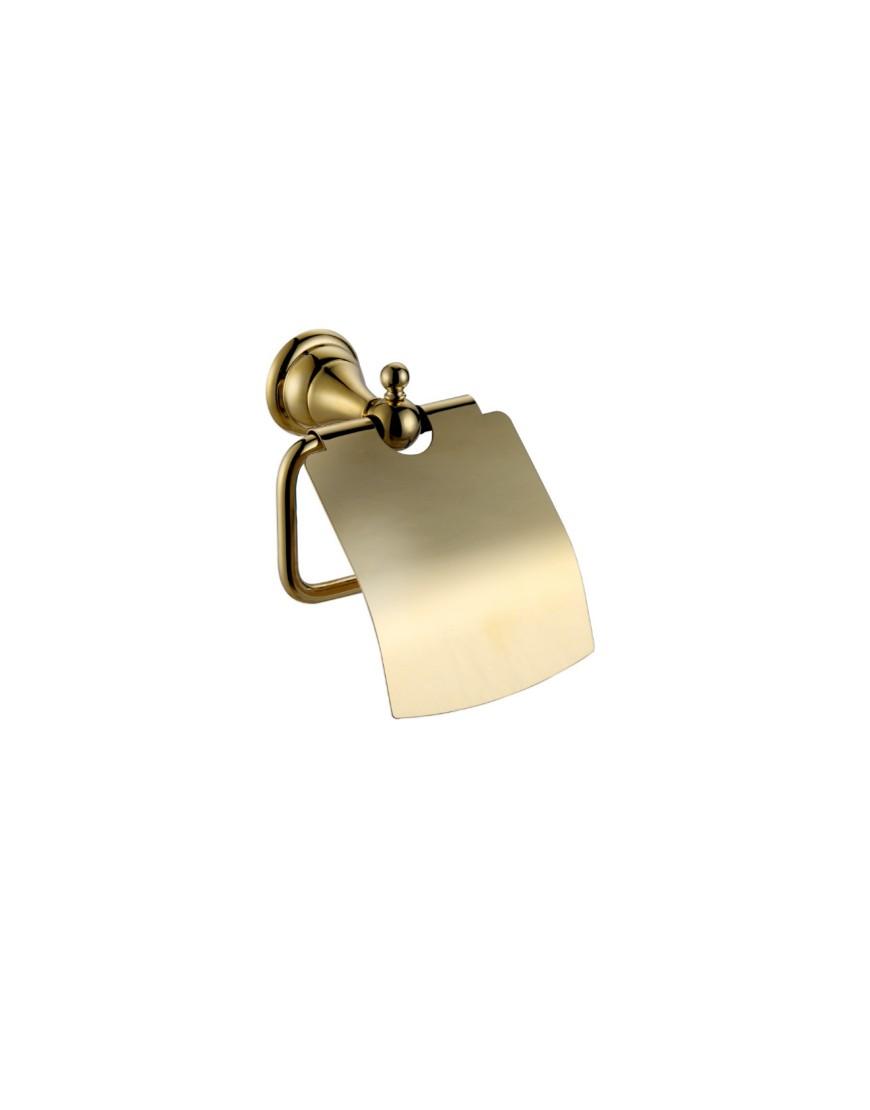 Suport hartie cu clapeta Pompei auriu casamia 2021